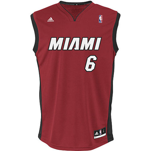 Picture of Miami Heat Jersey